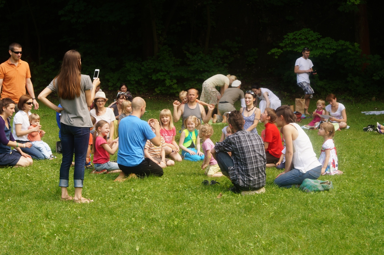 ParkuJeMyEko - joga dla dzieci, grupa2